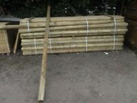 Timber fence post 100mmx3m