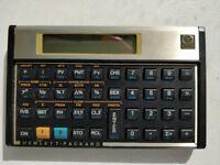 Hewlett Packard HP 12C financial calculator (allowed for CFA exam)