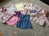 Children's clothes - girls clothing bundle 9-12 months