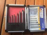 Glass drill set