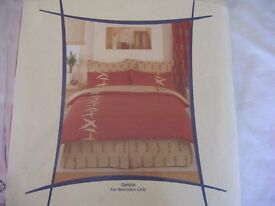 Geisha duvet cover and matching pillow cases - unused and packaged