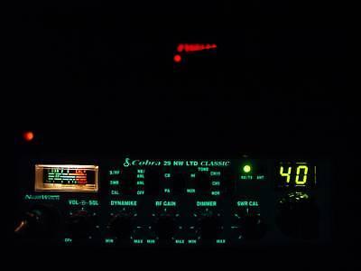 COBRA 29 LTD CLASSIC NW CUSTOM CB RADIO,SUPERTUNED,ECHO,HIGH RECEIVE,TALKBACK!!