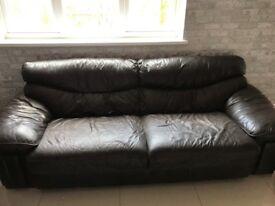 large leather 3seate sofa 35