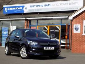 CITROEN C4 1.6 BLUEHDI FLAIR S/S EAT6 5d 118 BHP (blue) 2016