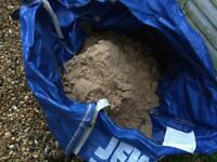 FREE Play Sand for sandpit or play area. Used but still some play left in it.