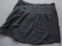 PRETTY LITTLE BLACK SKIRT - VERY SMART - SIZE 12 - FRENCH BRAND - CHEAP £4