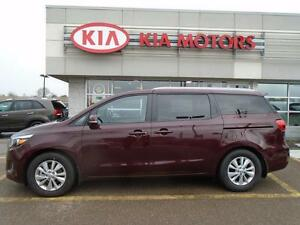 2016 Kia Sedona LX+ 8 PASSENGER MSRP $34,820 NOW ONLY $31,095