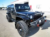 2013 Jeep WRANGLER UNLIMITED RUBICON LOADED / 5.5 BDS LIFT / 37