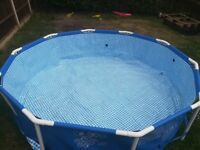 10ft pool filter and cover