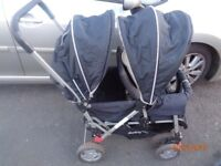 Safety 1st tandem/double stroller.