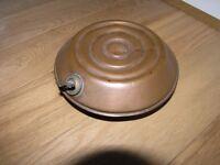 Antique Schrader Copper Got Water Bottle Weymouth