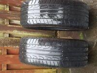 2x Dunlop SP Sport Maxx 275/50 R20 Tyres 5,5 mm
