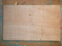 Guitar or Bass Guitar Hardwood (Obeche) Body Blanks Tonewood 50cm x 32cm x 7cm Luthier Related