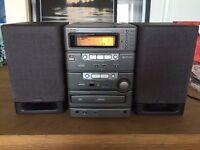 denon micro stereo system