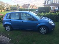 Fiesta (2003) 1.4 Ghia for sale - Good condition, 4 month MOT, Alloy wheels, 5 dr