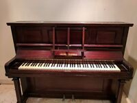 Upright George Russell Overstrung Piano