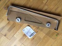 Glass bathroom shelf with metal frame- brand new still in its pack - IKEA