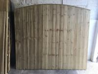 🍁Excellent Quality Bow Top Feather Edge New Fence Panels • Heavy Duty