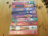 FREE! Selection of classic VHS videos. Children's favourites.
