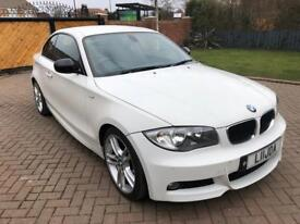 2010 60 BMW 120D COUPE MSPORT WHITE
