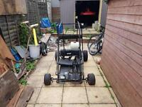 Go kart off road buggy with engine