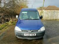 NO VAT. Vauxhall Combo 2000 CDTI, Two Owners, 105,000 Miles, MOT 15/2/18, TEL-07478149949.