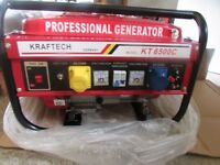 Petrol Generator 6 Kw UNUSED !
