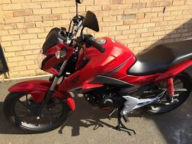 Honda CB125F, Immaculate condition.