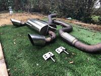 """Mongoose Rs / st 3"""" exhaust system"""