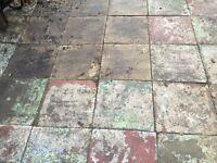 Free paving slabs