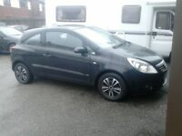2007 VAUXHALL CORSA 1.0 3 DOOR WITH JUST 87,000 MILES FROM NEW AND MOT TILL MAY, CAR DRIVES SUPERB