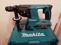 BRAND NEW MAKITA 36V SDS DRILL IN MAKPAC CASE