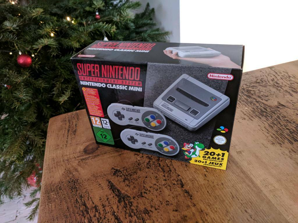 Super Nintendo Classic Mini - Perfect Christmas Present   in ...