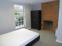 King-size room with en-suite - professional house share - suitable for a couple