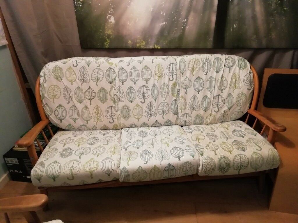 Sold Stc Ercol Wooden Sofa In Bristol Gumtree