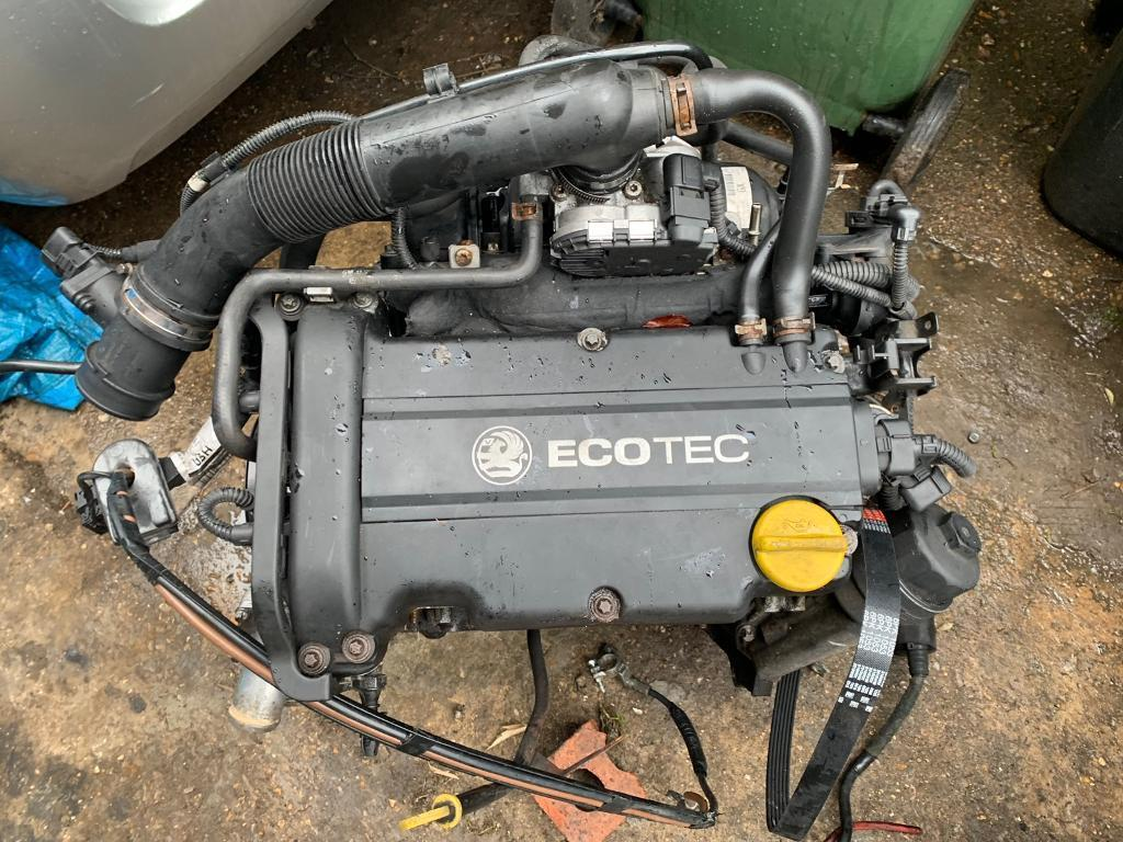Vauxhall corsa d z14xep engine good runner spares or repair 2008 | in  Luton, Bedfordshire | Gumtree