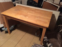 Wooden Dining/Kitchen Table