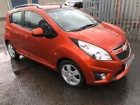 Stunning 2010 10 Chevrolet Spark 1.2 LT 5Dr **2 Owner+Only 77k+Full History+Only £30 Tax**