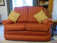 2 Seater Sofa and Easy Chair.