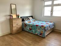 Big double room for single person.