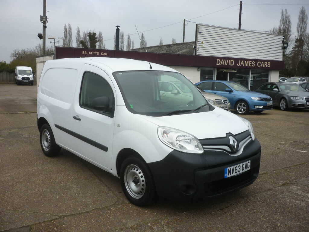 renault kangoo 1 5 dci eco2 ml19 75 phase 2 panel van 5dr white 2013 in hethersett norfolk. Black Bedroom Furniture Sets. Home Design Ideas