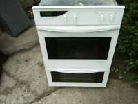 De Dietrich double electric oven white