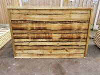 6FT X 4FT HEAVY DUTY WANEYLAP FENCE PANELS ONLY £25 EACH