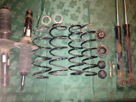Vw golf mk4 shocks and springs