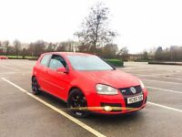 2005, 55 REG, VW GOLF GTI FSI 2.0L TURBO TORNADO RED 12 MONTH MOT ***BARGAIN***