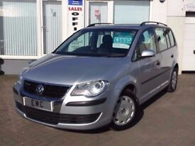 2009 09 Volkswagen Touran 1.9TDI ( 105ps ) Tech ( 7st ) SPECIAL OFFER!! REDUCED!