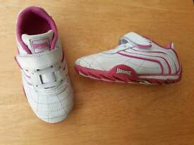 Girls size 8 Lonsdale trainers