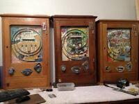 Vintage arcade machines one arm bandits Wanted