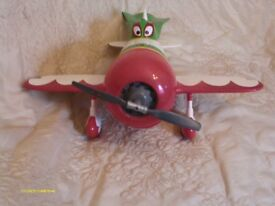 El Chupacabra Disney / Pixar Toy Plane...Talking plane with sounds & light in Good condition
