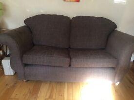 Two sofas £100